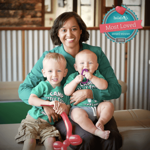 The doc and babies - Camp Little Tooth Pediatric Dentistry